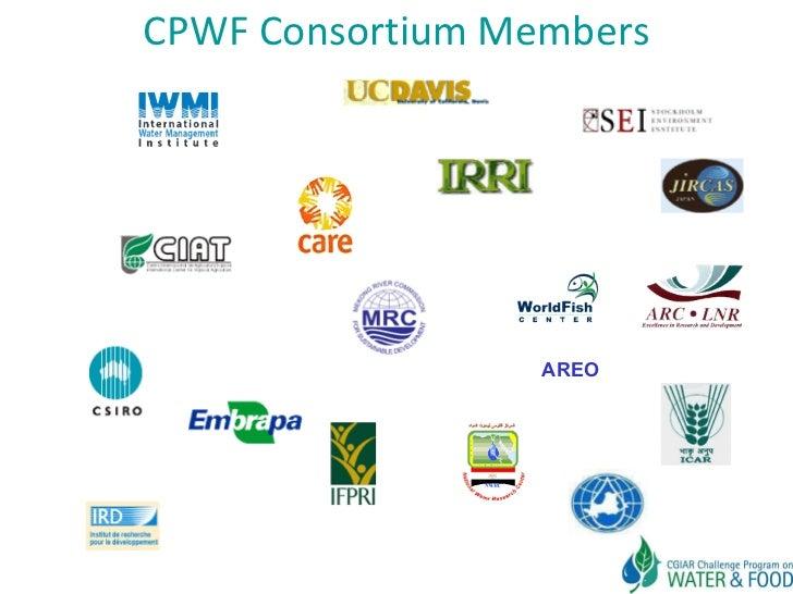 CPWF Consortium Members AREO