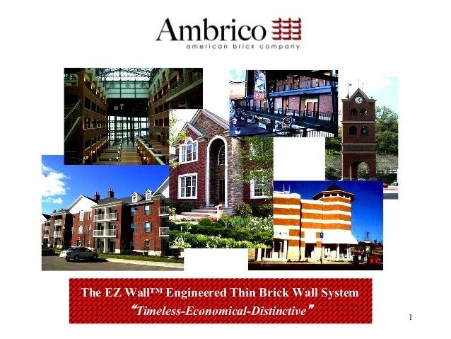 Ambrico Architect Presentation