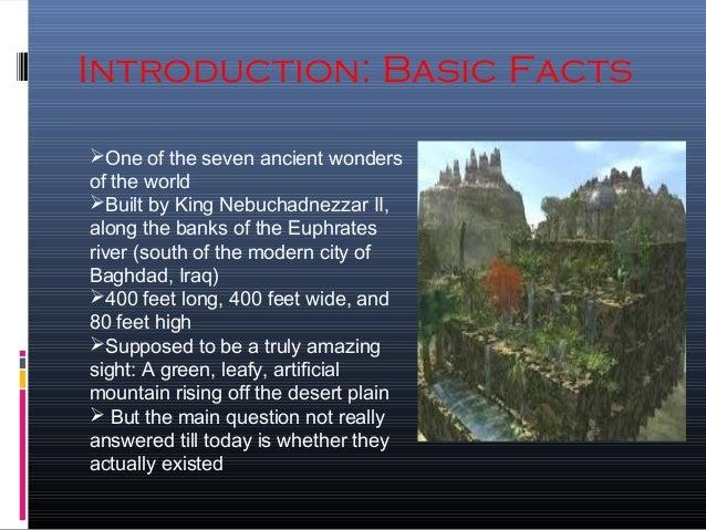 Facts 2 History The Babylonia