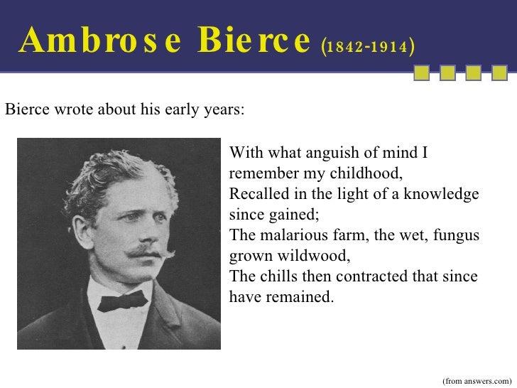 ambrose bierce education