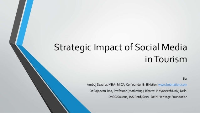 impact of social media on tourism pdf
