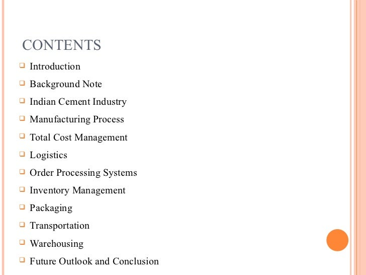 cement manufacturing process in india pdf