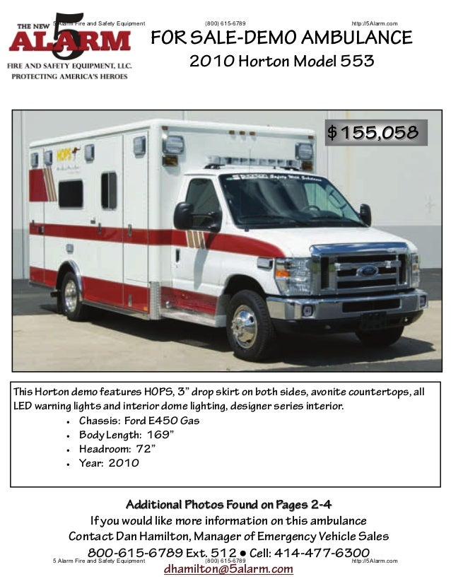 5 Alarm Fire and Safety Equipment       (800) 615-6789                http://5Alarm.com                                   ...