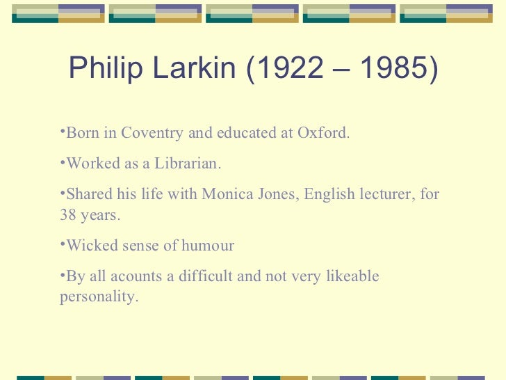 ambulances by larkin Ambulances by philip larkin - closed like confessionals, they thread loud noons of cities, giving back none of the glances they absorb light gloss.