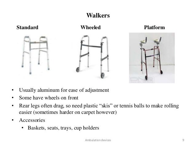 how to use a walker properly
