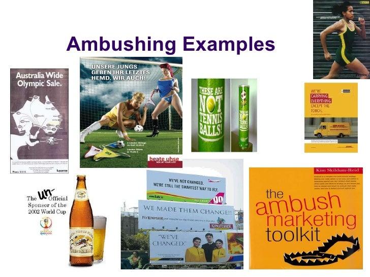 Ambushing Examples