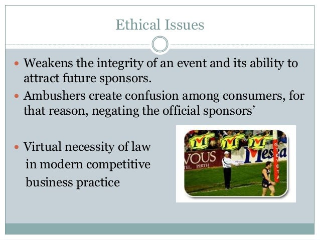 (PDF) Legal Prevention of Ambush Marketing – Case Study of ...