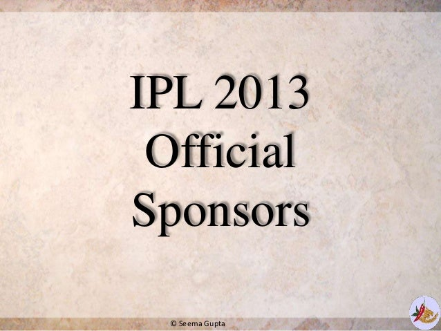 ipl marketing Ipl calls upon our services for a variety of marketing initiatives that would not be  possible otherwise due to a lack of internal marketing resources hey creative.