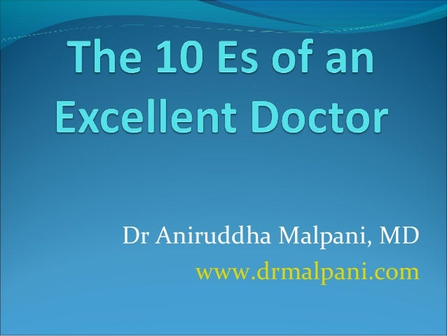 Dr Aniruddha Malpani, MD www.drmalpani.com