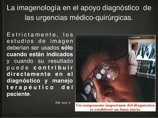Redes sociales La imagenología en el apoyo diagnóstico de las urgencias médico-quirúrgicas.