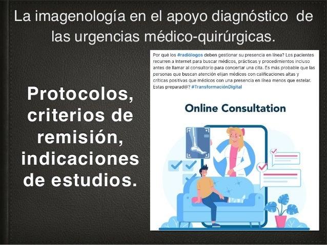 5. Equipo de cómputo de apoyo para la revisión de estudios La imagenología en el apoyo diagnóstico de las urgencias médico...