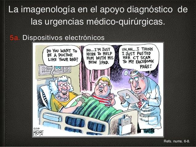 5b. Soporte digital de imágenes diagnósticas La imagenología en el apoyo diagnóstico de las urgencias médico-quirúrgicas. ...