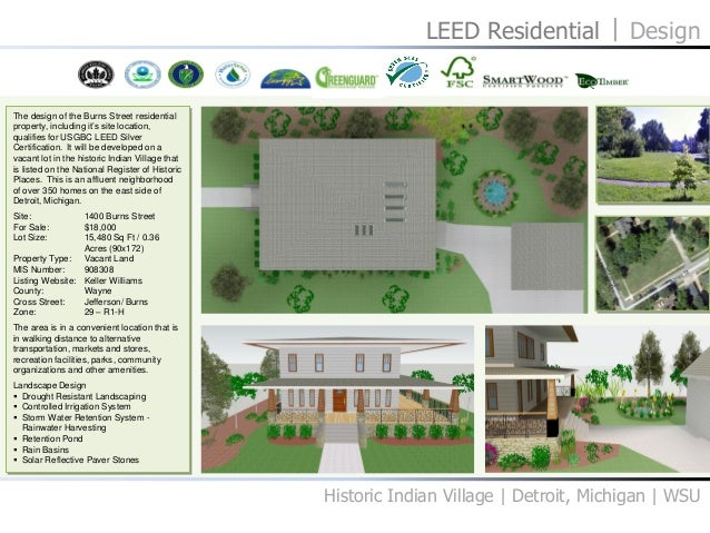 Residential Design 03 LEED Project 33