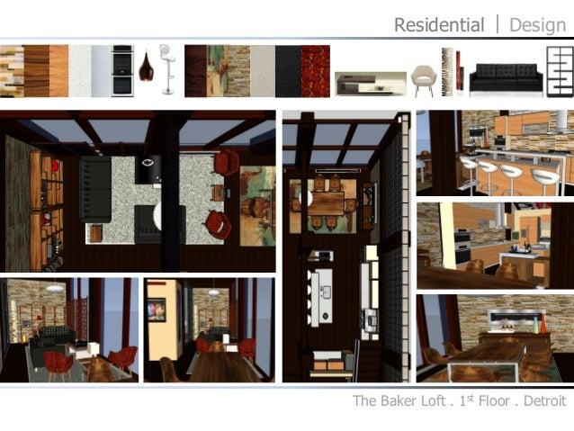 Residential Design The Baker Loft 1st Floor
