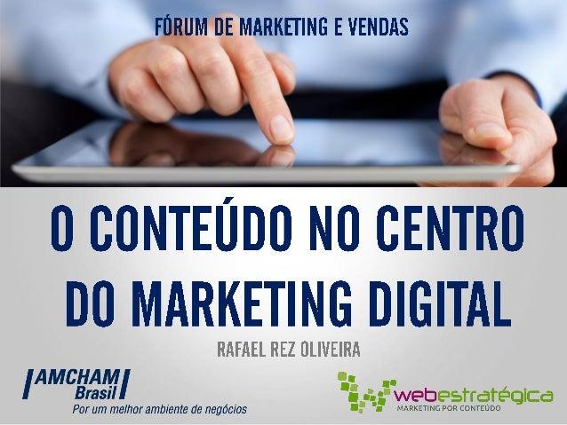    @    Fórum de Marketing e Vendas AMCHAM