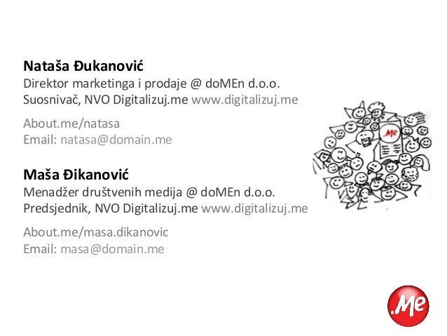Društvene mreže: (Nove) alatke za biznis i marketing Slide 2