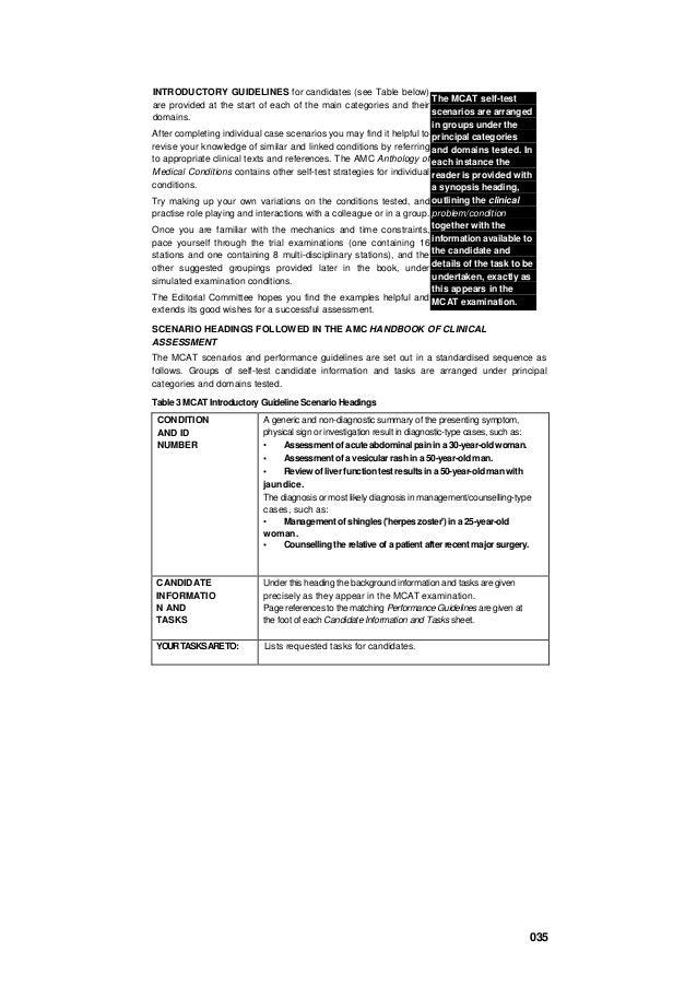 amc handbook of clinical assessment pdf