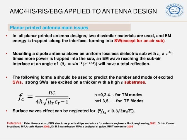 Amc his_ris_structure application in antenna engineering