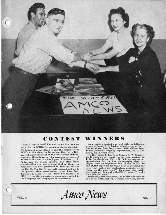 Amco News - 1949