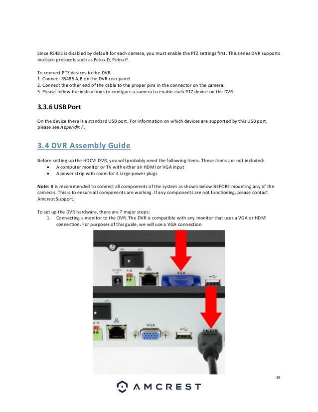Amcrest HDCVI DVR User Manual