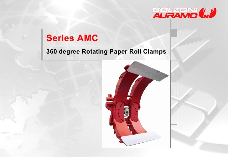 Series AMC 360 degree Rotating Paper Roll Clamps