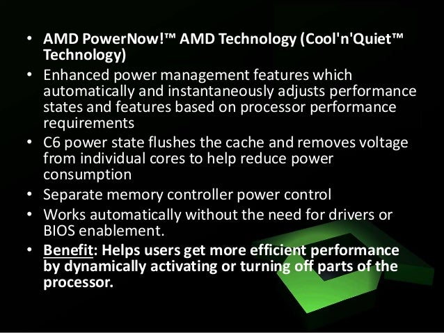 the features of advanced micro devices Advanced micro devices, inc (amd) is an american multinational semiconductor company based in santa clara, california, that develops computer processors and related technologies for business and consumer markets.