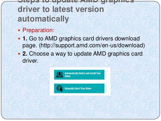 Amd auto detect - how can we do it