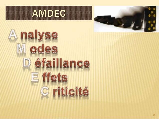 Amdec Slide 2