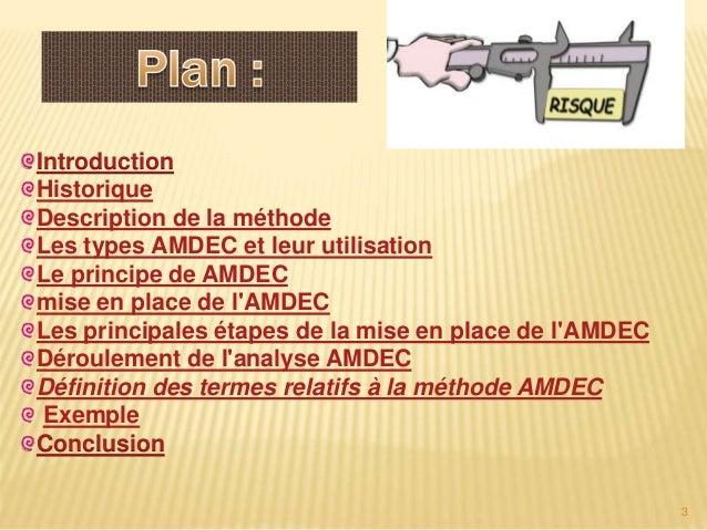 Amdec Slide 3