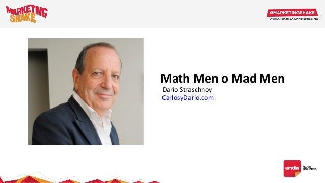Math Men o Mad Men CarlosyDario.com Darío Straschnoy