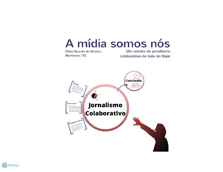 Jornalismo Colaborativo em Blumenau SC