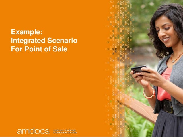 Example:Integrated ScenarioFor Point of Sale