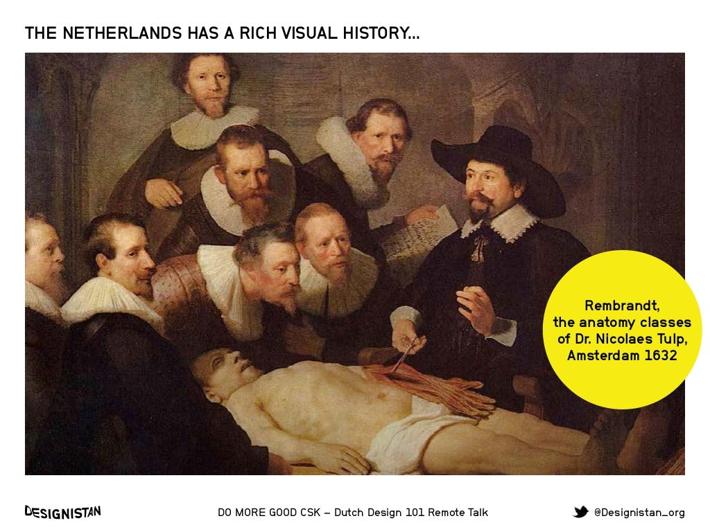Rembrandt, the anatomy classes of