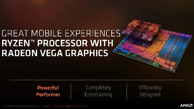AMD Ryzen Mobile with Radeon Vega Graphics