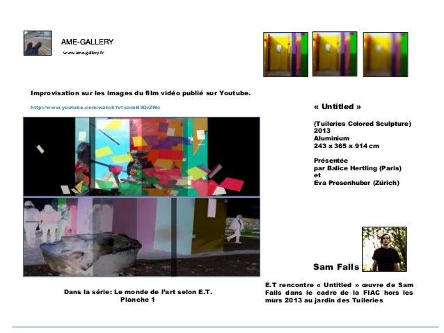 AME-GALLERY www.ame-gallery.fr  F Improvisation sur les images du film vidéo publié sur Youtube. http://www.youtube.com/wa...