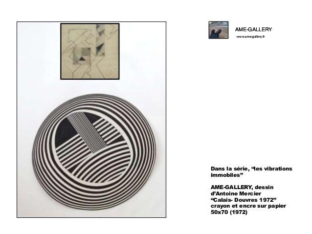 """AME-GALLERY www.ame-gallery.fr  Dans la série, """"les vibrations immobiles"""" AME-GALLERY, dessin d'Antoine Mercier """"Calais- D..."""