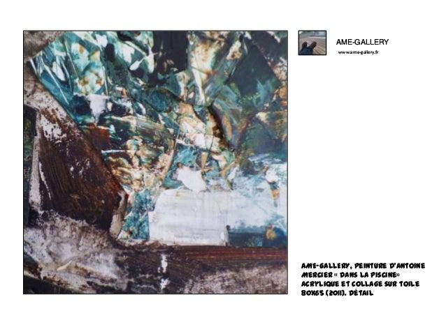 Ame gallery peinture d 39 antoine mercier dans la piscine for Apprendre a plonger dans la piscine