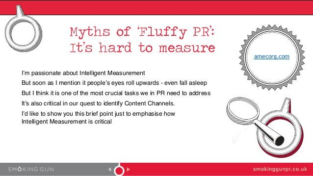 Myths of 'Fluffy PR': It's hard to measure