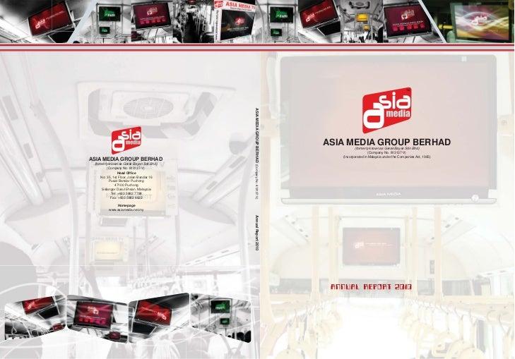 ASIA MEDIA GROUP BERHAD (Company No. 813137-V)                                                                            ...