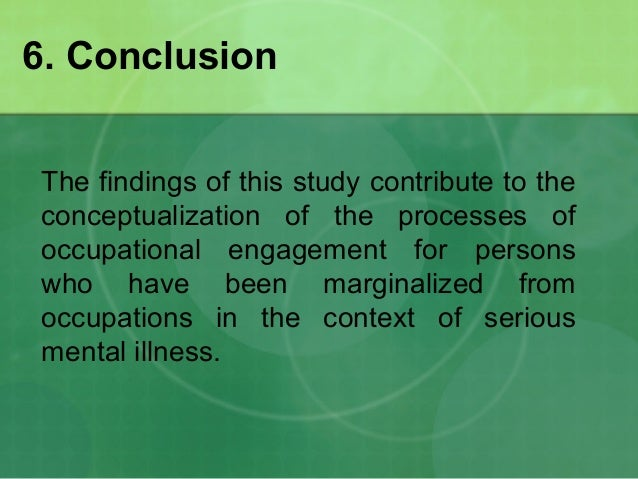 mental illness case studies Ongoing emotional and mental health treatment aims are to maintain mary's mental health and prevent future relapse through intensive case management and daily home visits by the.
