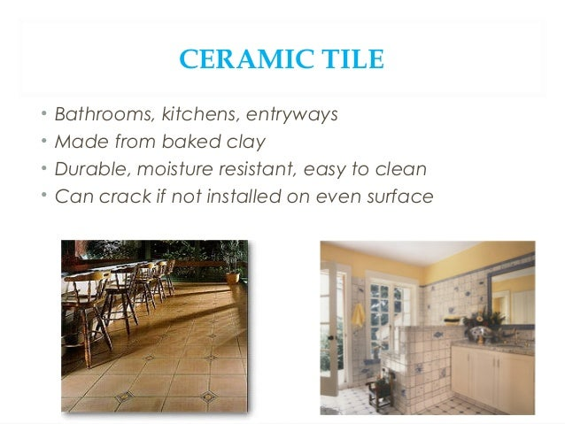 OTHER TILES • Ceramic Mosaic • Individual tiles mounted together to keep together and make installation easier • More ofte...