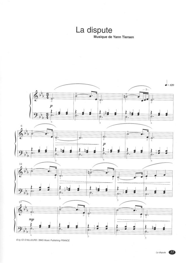 Amelie) yann tiersen six pieces for piano