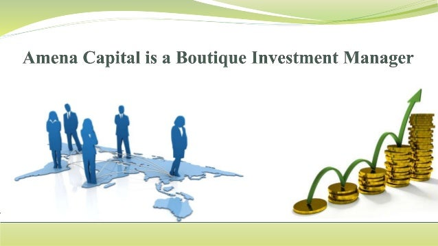 Amena Capital is a boutique Investment Manager providing advice and facilitation for: 1. Capital Raising 2. Investment Man...