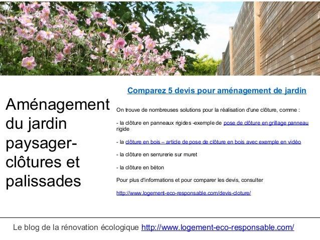 Amenagement jardin paysager - Jardin paysager exemple ...