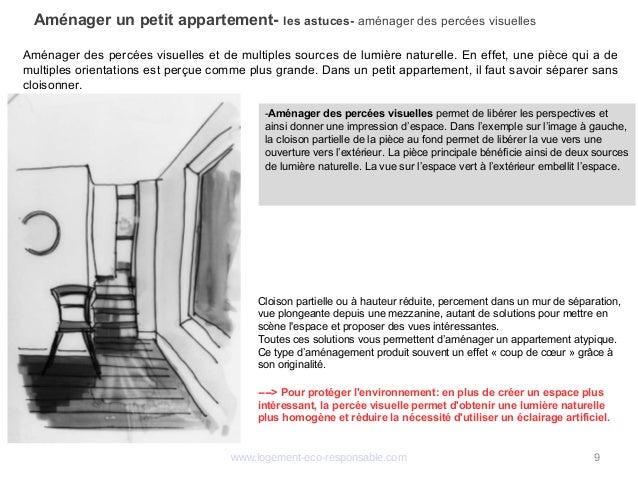 Amenager Un Petit Appartement