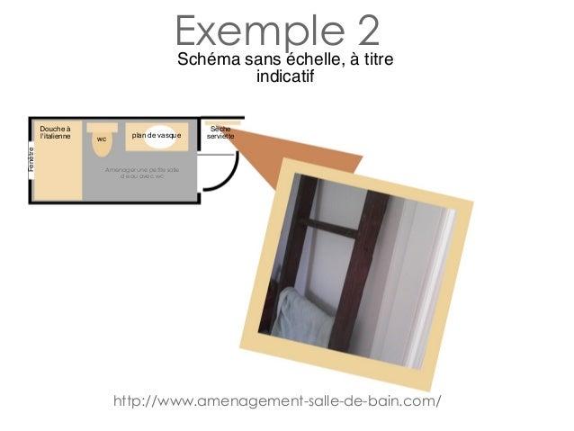 amenager une petite salle d eau avec wc. Black Bedroom Furniture Sets. Home Design Ideas