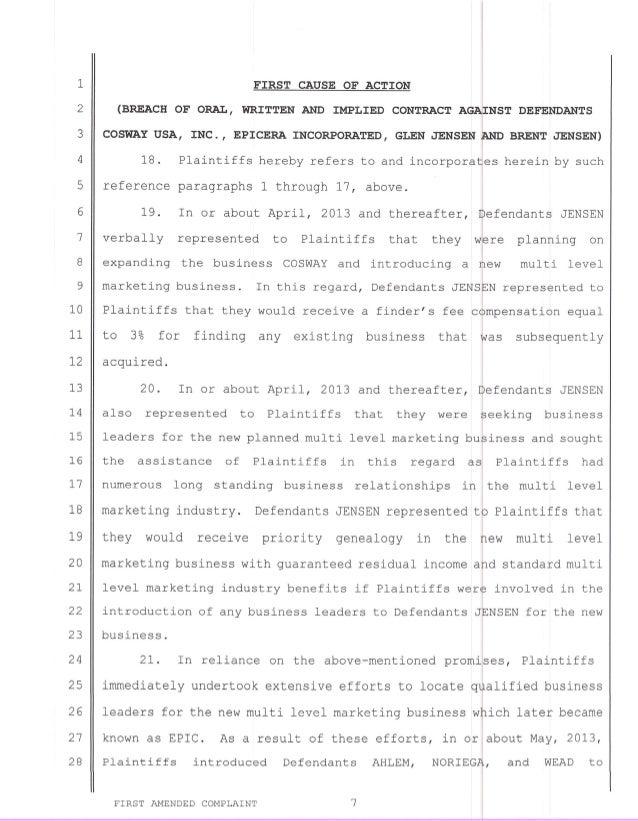 Amended complaint june 19 2014