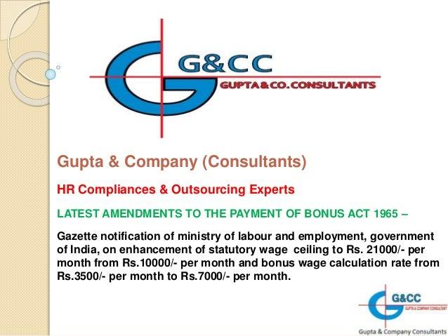 payment of bonus act india