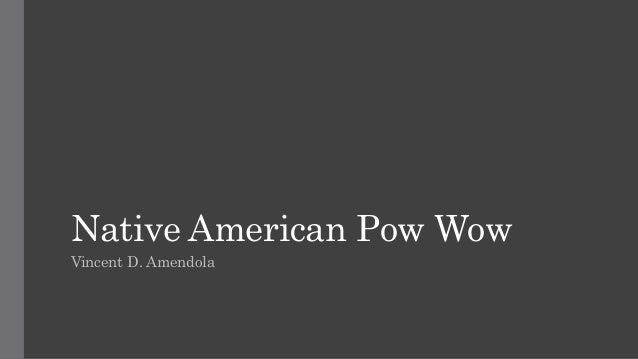 Native American Pow Wow Vincent D. Amendola
