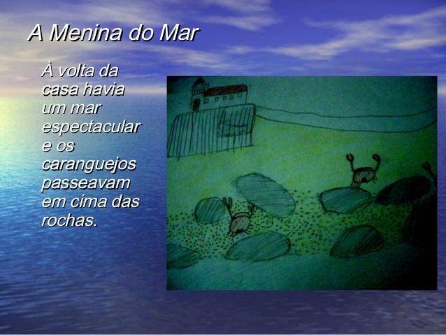 A menina da mar Slide 3